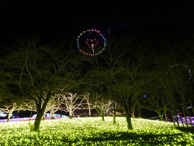 Sagamiko Pleasure Forest fireworks