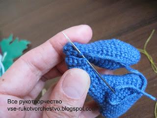 Как собирать вязаные крючком игрушки амигуруми. Мастер-класс с фото