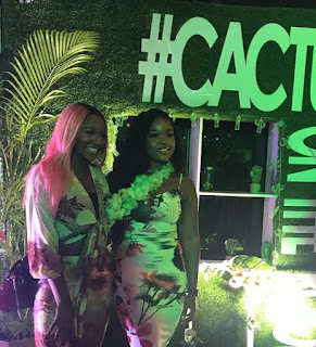 BBNaija's Cee-C And Khloe Attends DJ Cuppy's 'Cactus On The Roof'