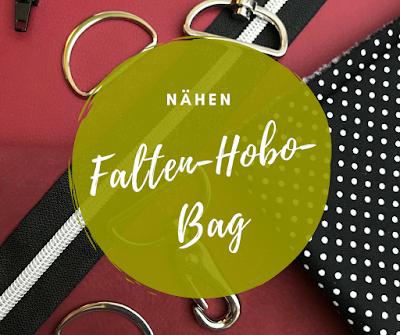 Falten-Hobo-Bag aus Kunstleder