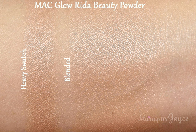 MAC Glow Rida Beauty Powder Good Luck Trolls 2016 Collection Swatches