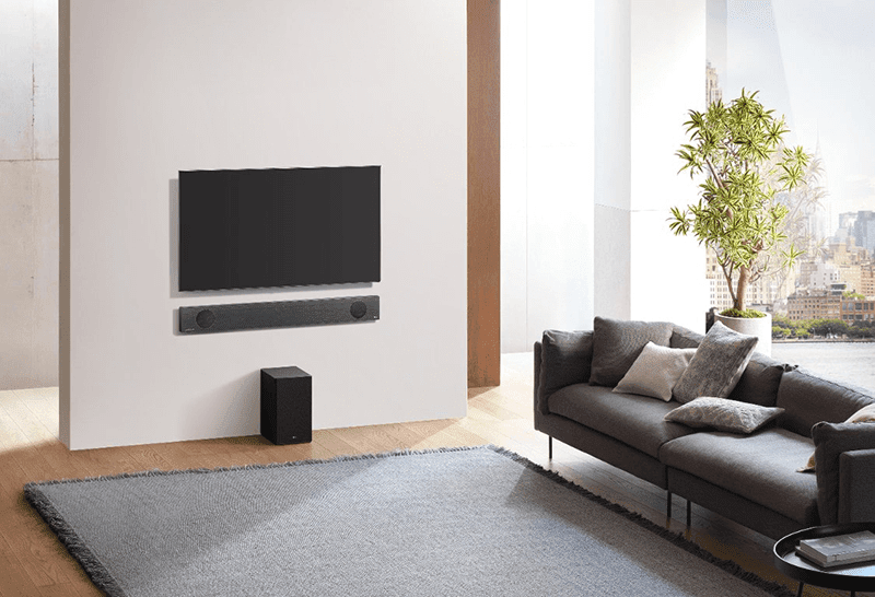The new soundbars have Dolby Atmos, DTS:X, AI and Google Assistant