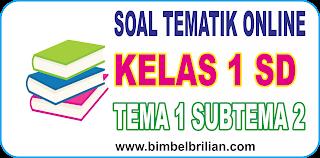 Soal Online K13 Kelas 1 SD Tema 1 Diriku Subtema 2 Tubuhku - Langsung Ada Nilainya
