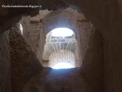 interno anfiteatro tunisia