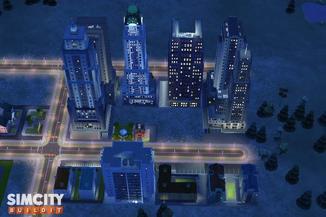 ciudad simcity buildit nivel 5