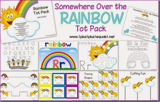 Rainbow Printables for Preschool