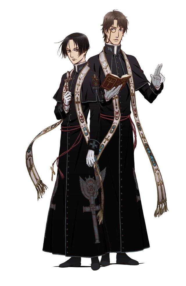 El anime Vatican Kiseki Chousakan muestra un nuevo tráile