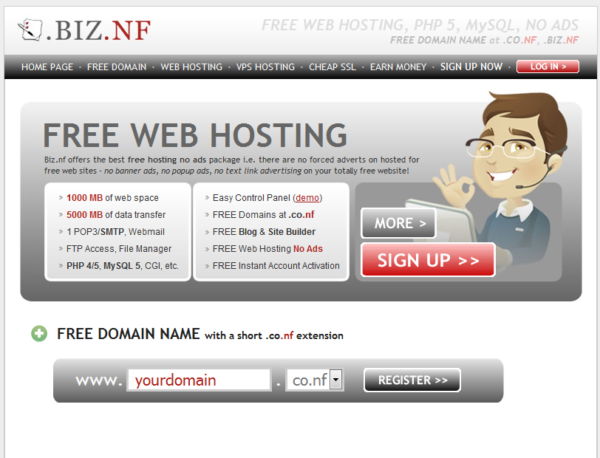 biz.nf-free-hosting Top 4 Free Hosting Providers For Beginners to Learn WordPress : eAskme
