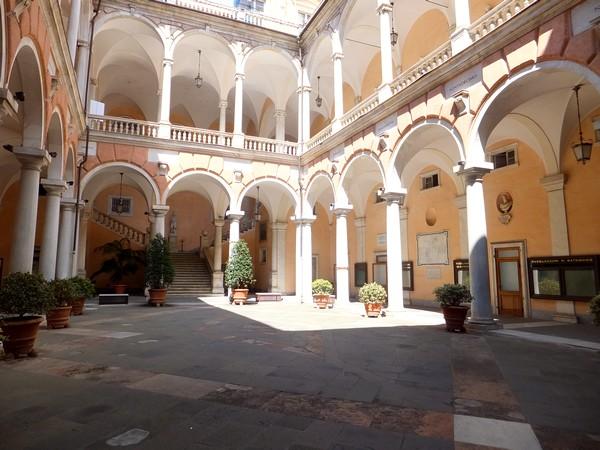 gênes genova via garibaldi strada nuove palazzi dei rolli palazzo tursi doria
