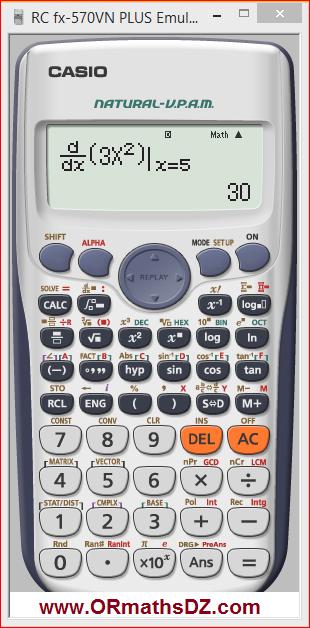 تحميل برنامج الة حاسبة علمية للكمبيوتر مجانا و بحجم صغير Casio Fx570vn Plus