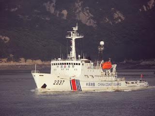 Patrullas en las islas Diaoyu