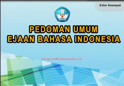 Download Pedoman Umum Ejaan Bahasa Indonesia (PUEBI) Pengganti EYD