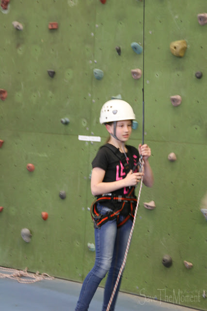 Klettern beim Cool Factor im CenterParcs De Kempervennen