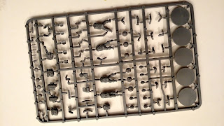 Bolt Action British Commandos Body Sprue