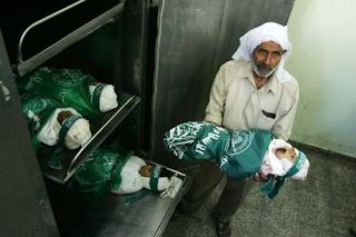 Anak-anak yang menjadi mangsa penganas israel zionis
