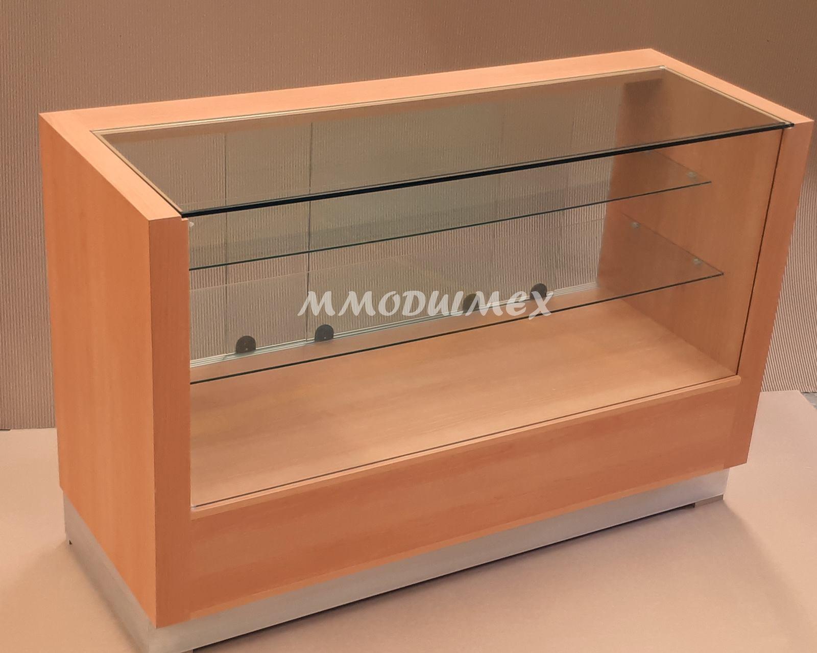 Mostradores vitrinas y estantes para tiendas y negocios for Muebles para almacen