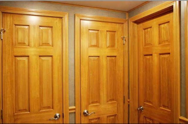 Three Private Bathroom Stalls