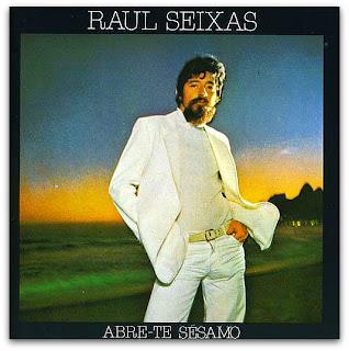 """Raul Seixas na capa do disco """"Abre-te Sésamo"""" de 1980"""