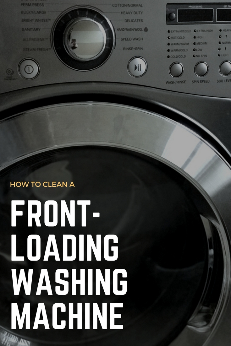 How To Clean A Front Loading Washing Machine Rachel Teodoro