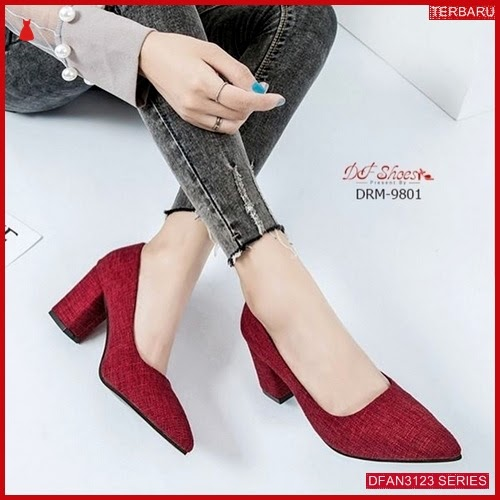 DFAN3123S132 Sepatu Tm 04 Hills Wanita Sol Karet BMGShop