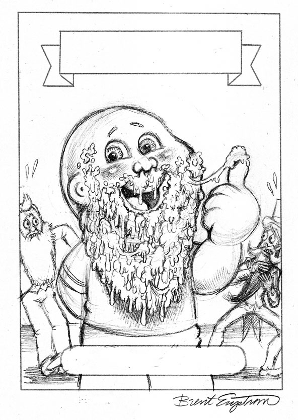 garbage pail kids coloring pages - photo#9