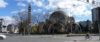 Mezquita de la parte europea-soviética de Skopje.