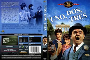 Carátula dvd: Uno, dos, tres (1961) (One, Two, Three)