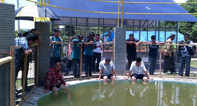 Wali Kota Palopo Resmikan Taman Swimbath Latuppa