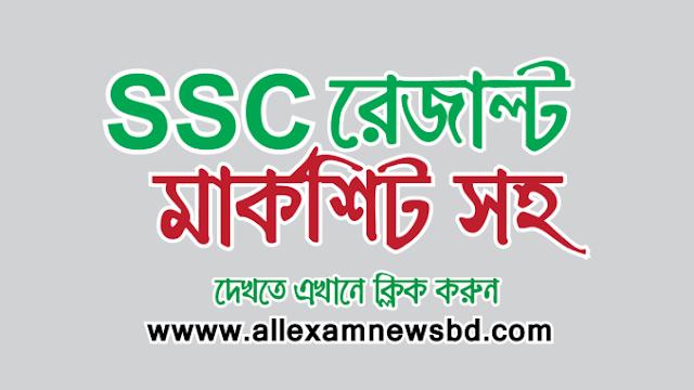 SSC exam result 2019