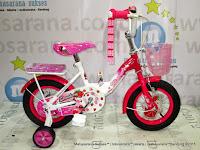 Sepeda Anak WIMCYCLE Strawberry CTB 12 Inci