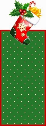Free Printable Christmas Nuggets or Gum Wrappers