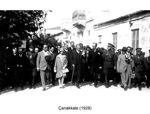Atatürk Çanakkale 1928 Fotoğraf