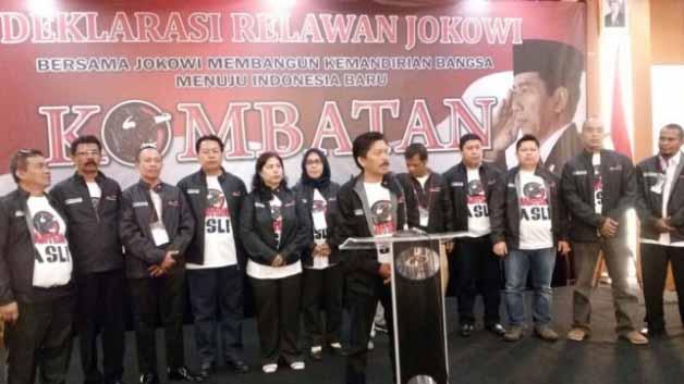 Jokowi Dideklarasikan Relawan Baru Pemenangan Pilres Dua Periode