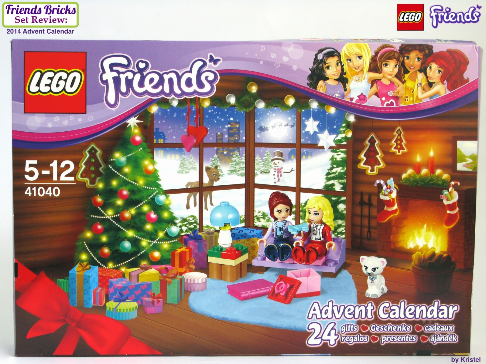 Heartlake times lego friends 2014 advent calendar reveal for Couch adventskalender
