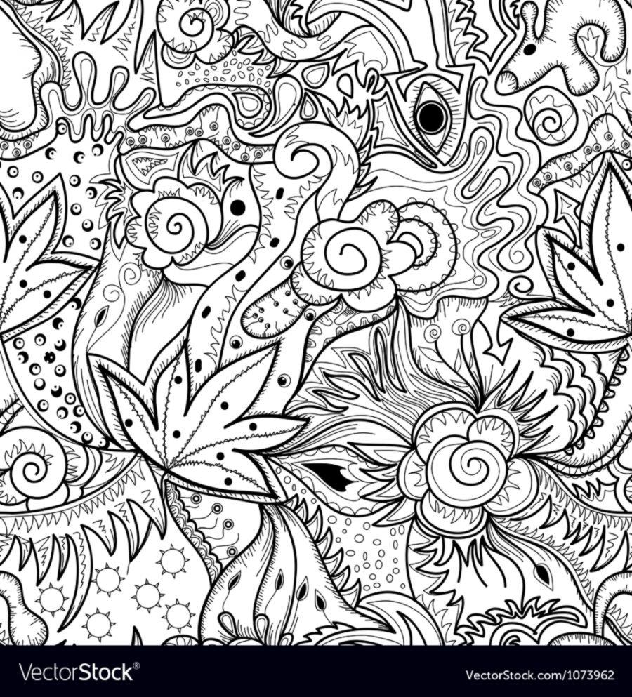 Abstract art drawing royalty free vector image
