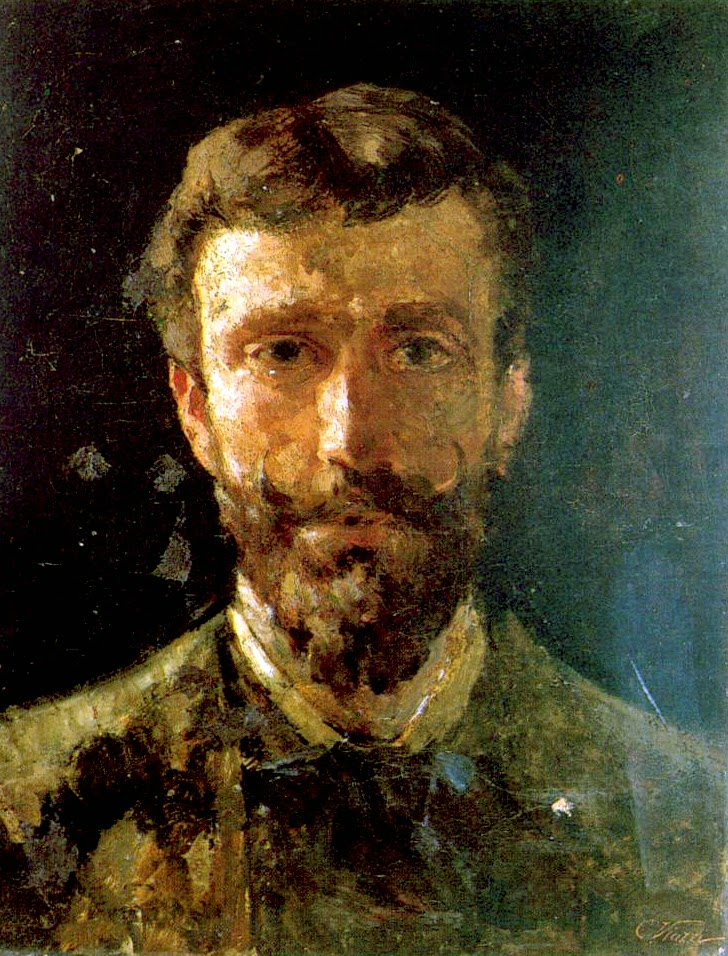 Cesare Viazzi, Self Portrait, Portraits of Painters, Fine arts, Painter Cesare Viazzi