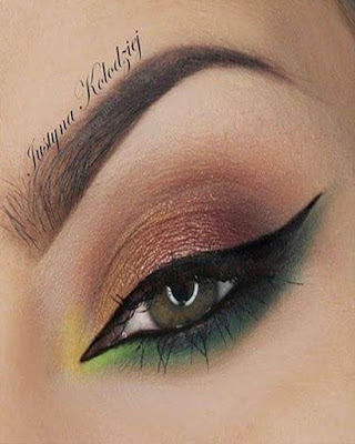 maquillaje de verano colores calidos