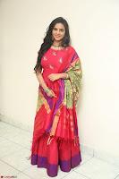 Manasa in Pink Salwar At Fashion Designer Son of Ladies Tailor Press Meet Pics ~  Exclusive 76.JPG