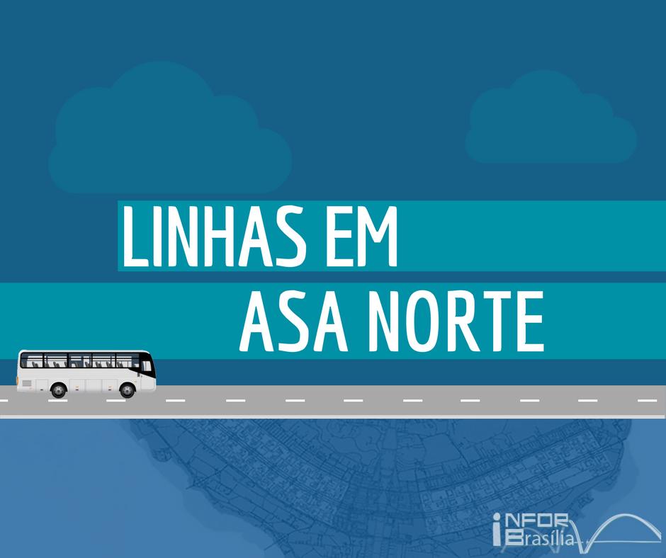 Horário de ônibus das linhas da Asa Norte