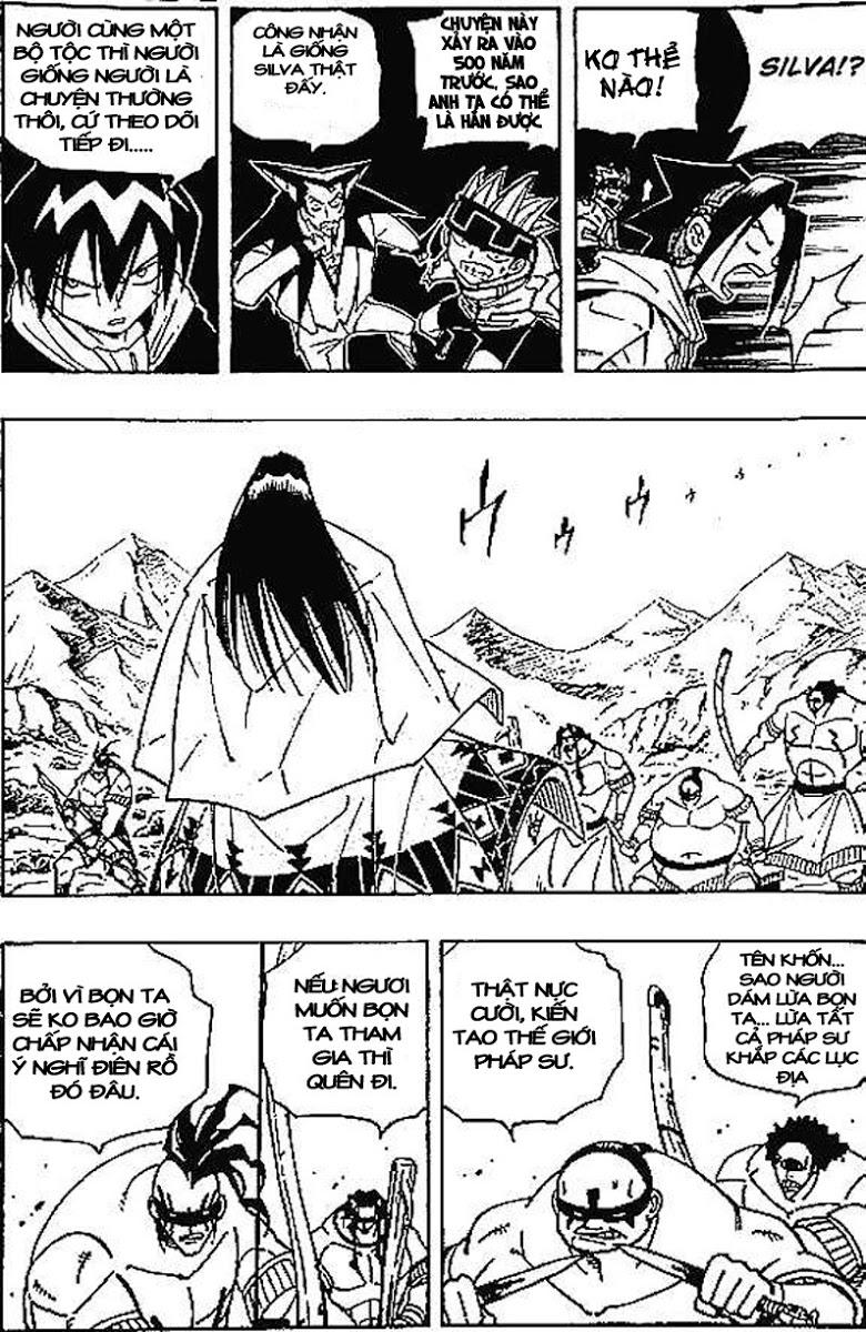 Shaman King [Vua pháp thuật] chap 83 trang 12