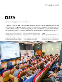 Relacja z wydarzenia CISZA