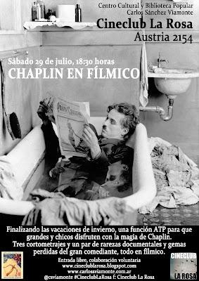 Chaplin en fílmico