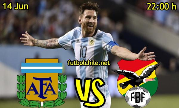 VER STREAM RESULTADO EN VIVO, ONLINE:  Argentina vs Bolivia