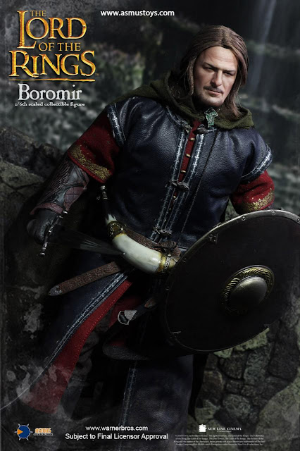 osw.zone Asmus Toys Lord of the Rings 1 / 6. scale Sean Bean as BOROMIR 12-inch action figure preview