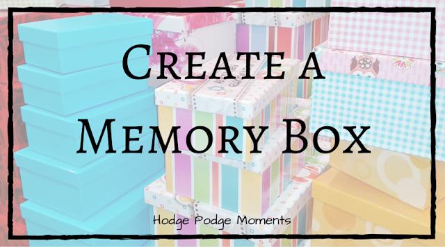 Create a Yearly Memory Box