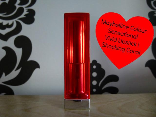 Maybelline Colour Sensational Vivid Lipstick