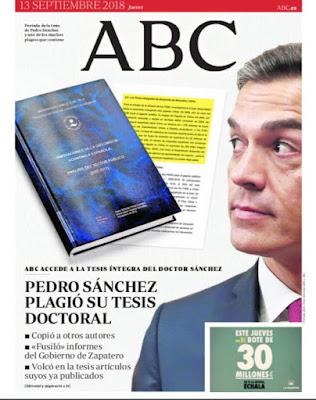 ▶️ Según 'ABC' el presidente del gobierno español cometió plagio en su tesis