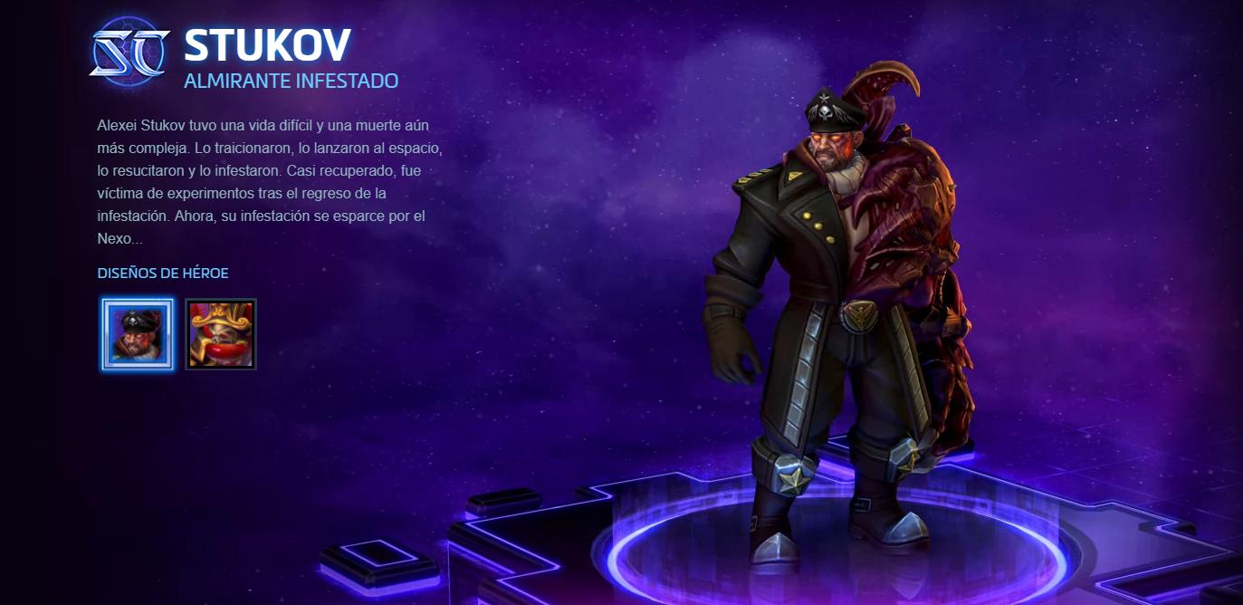 Analizamos Stukov de Heroes of the Storm, Starcraft nos propone un nuevo héroe