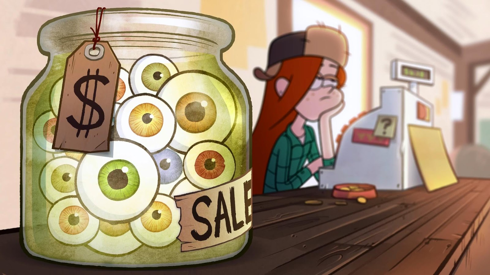 Mundo distorsi n rese a final gravity falls for Craft shows on tv