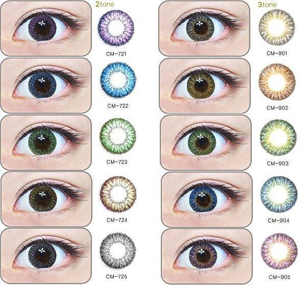 contact lens berwarna yang menarik